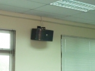 Fixing PA System At School In Penang 3