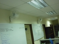 Fixing Wall Fan For Schools In Penang 01