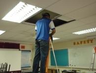 Projector Fixing at SMK BERTAM PERDANA4