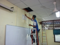 Smart Classroom Fixing In Sk St George Penang2