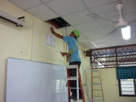 Smart Classroom Fixing In Sk St George Penang6