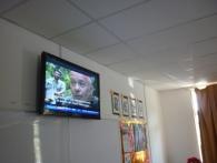 Television Fixing At SMK Bayan Lepas 4