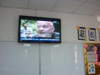 Television Fixing At SMK Bayan Lepas 5